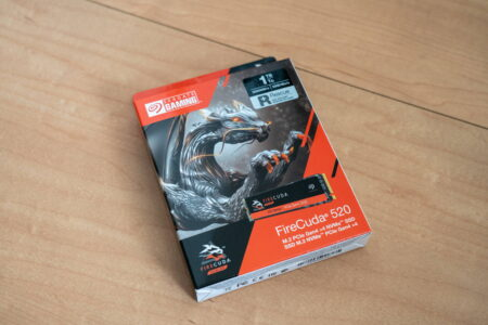 超爆速SSD「FireCuda 520」でRAIDを組んだりいろいろ試してみた。ただし、PCIeのリビジョンに注意